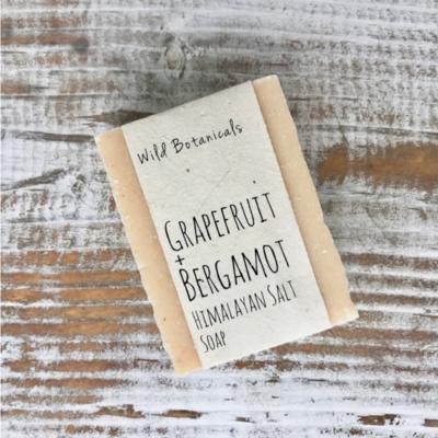 Grapefruit Bergamot Himalayan Salt Soap