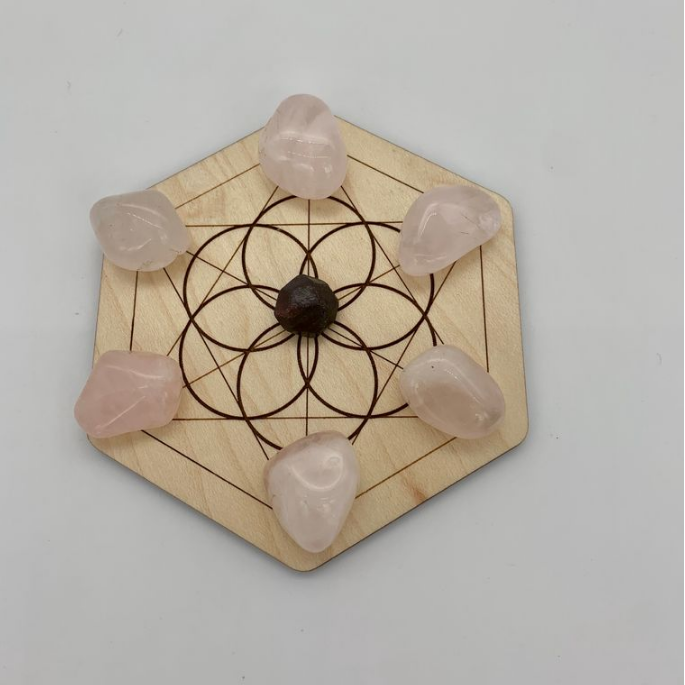 Mini Crystal Love Grid
