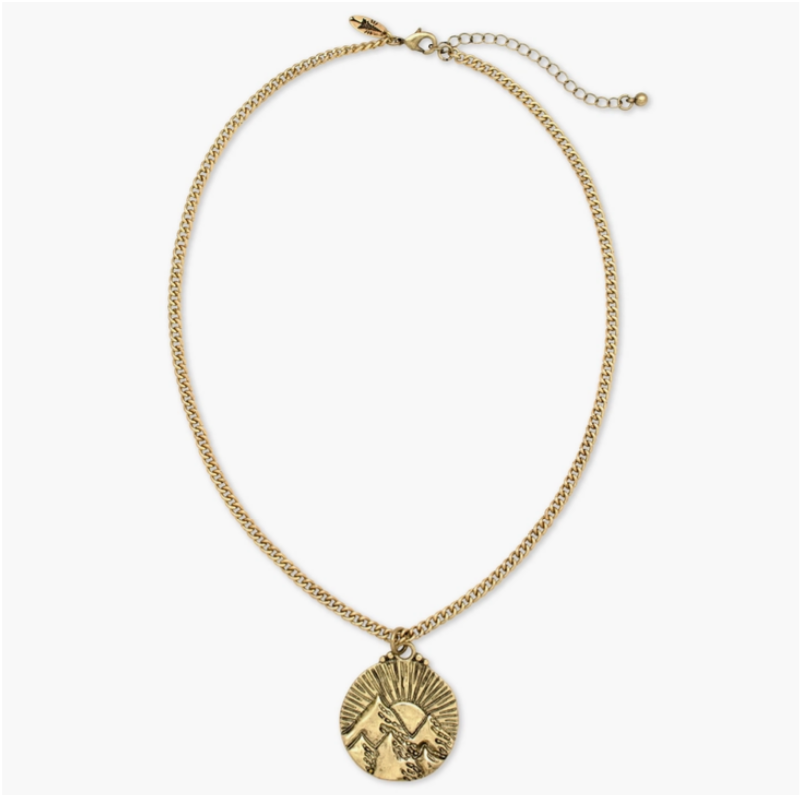 Mountains of the Sun Necklace