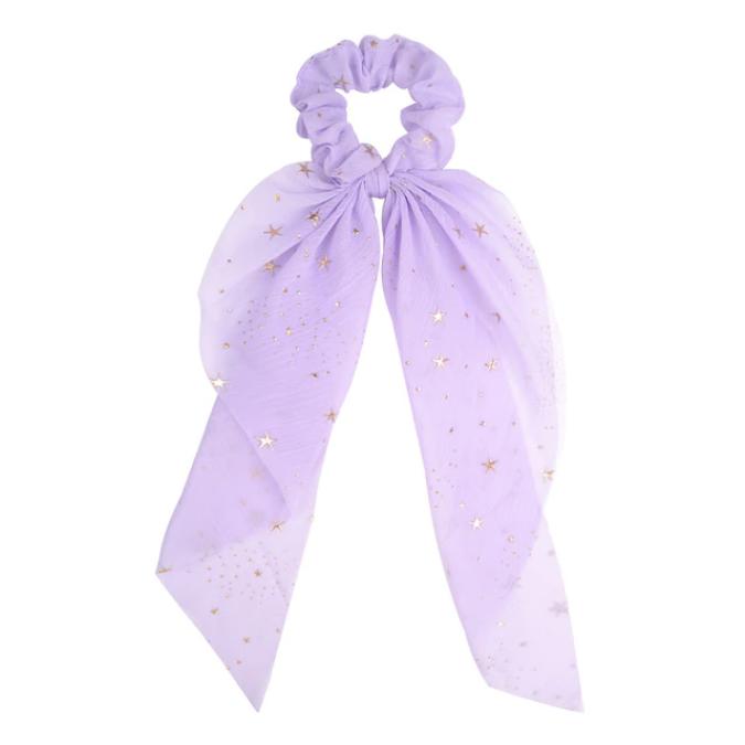 Star Bow Hair Scrunchies (3 colors)
