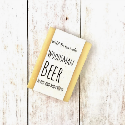 Woodsman Beer Soap