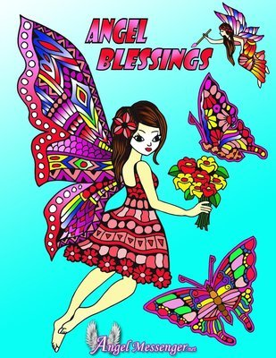Angel Blesssings Coloring Page