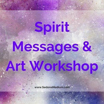 Spirit Messages & Art Workshop