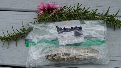 California White Sage Smudge Stick (1)