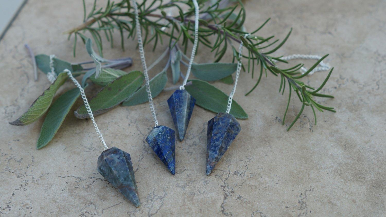Lapis Lazuli Pendulums