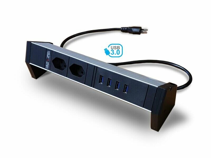 Deskline USB 3.0 Hub T13 Steckdosenleiste