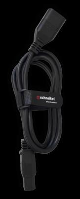 Apparatekabel schwarz, C14-C13