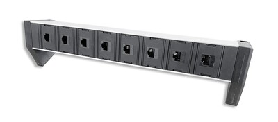 PDU Desk Line 1HE, 8 x RJ45 single Modul