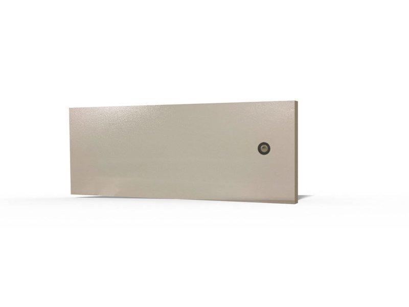 Metalltüre für Wandgehäuse 4HE