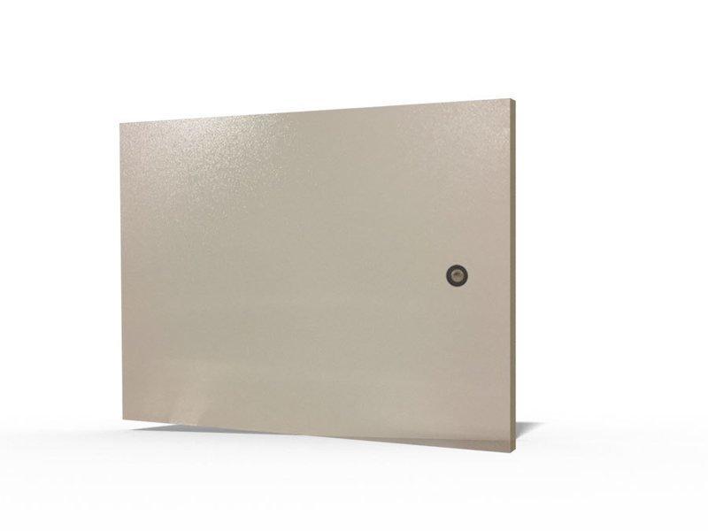 Metalltüre für Wandgehäuse 10HE