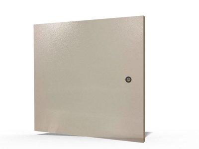 Metalltüre für Wandgehäuse 18HE