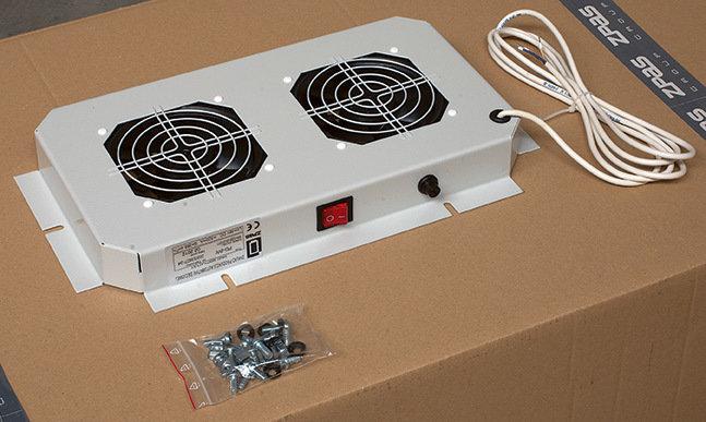 Dachlüfter mit 2 Lüfter ohne Thermostat (380 x 210 mm)