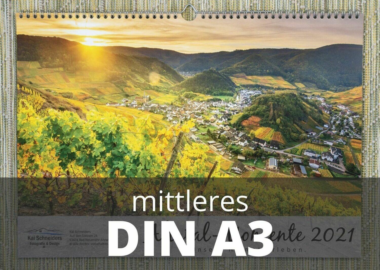 "Monatskalender ""Ahrtal Momente"" 2021 - mittleres A3 Format"