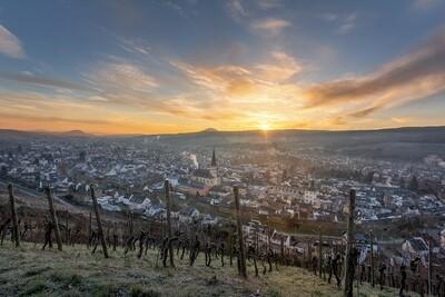 Winterlicher Blick auf Ahrweiler