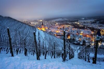 Schneemorgen in Ahrweiler