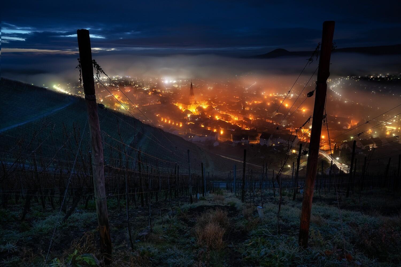 Nebel über Ahrweiler