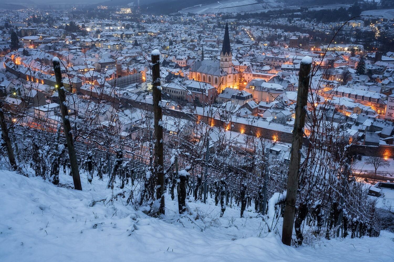 Schnee in Ahrweiler
