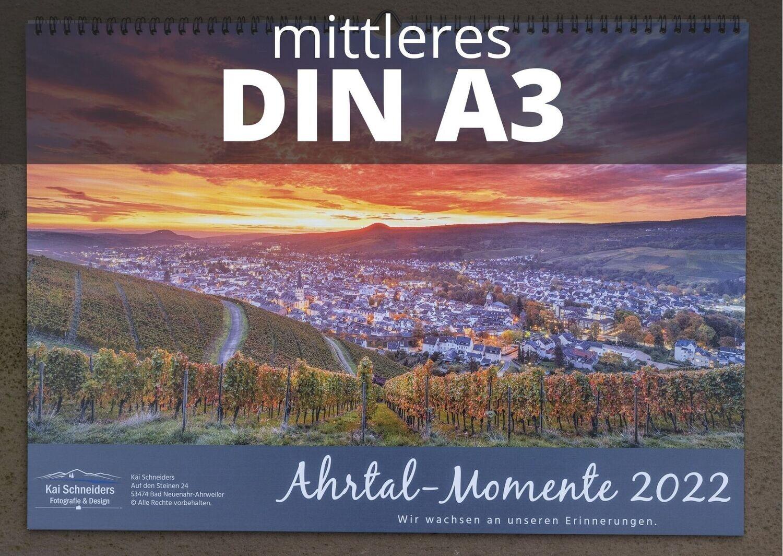 "Monatskalender ""Ahrtal Momente"" 2022 - mittleres A3 Format"