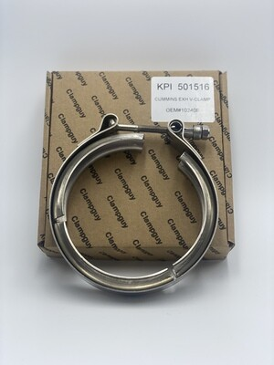 V CLAMP CUMMINS EXHAUST V CLAMP ID 3.25 INCH OEM#3905216//68210655AA-AFTERMARKET