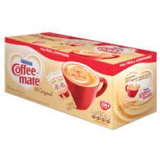 Sustituto de crema para café Coffee Mate Caja con 200 Sobres de 4g