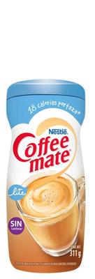 Sustituto de crema para café Coffee Mate Lite de 311g