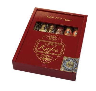 Kafie 1901 Six Cigar Sampler- Toro 6x52