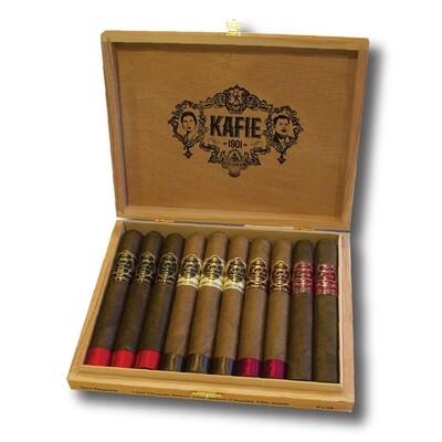 Kafie 1901 Ten Cigar Premium Sampler 6X54