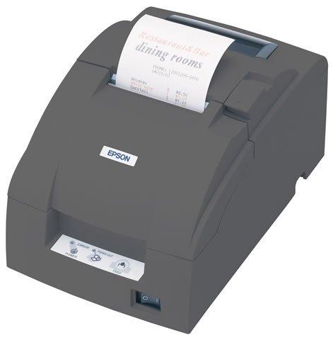EPSON TMU220B Ethernet Auto-Cut Black