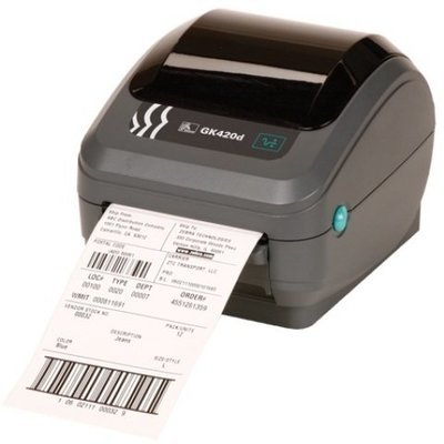 Zebra Desktop GK420D Direct Thermal Printer (Ethernet/USB)