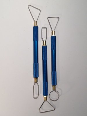 Trimming Tool Set - 3 Handles & 6 Assorted Blades