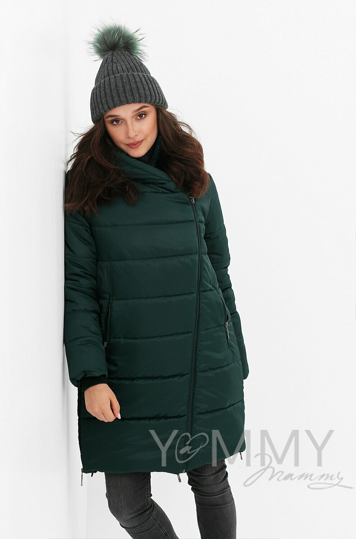 Y@mmy Mammy. Зимняя куртка 3 в 1, цвет изумруд