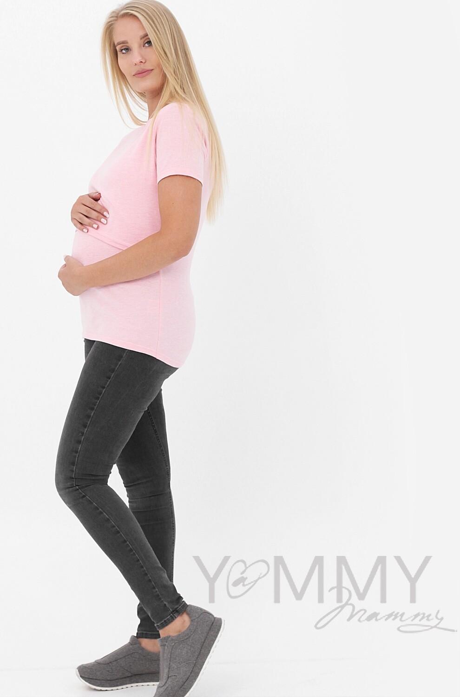 Y@mmy Mammy. Футболка розовый меланж