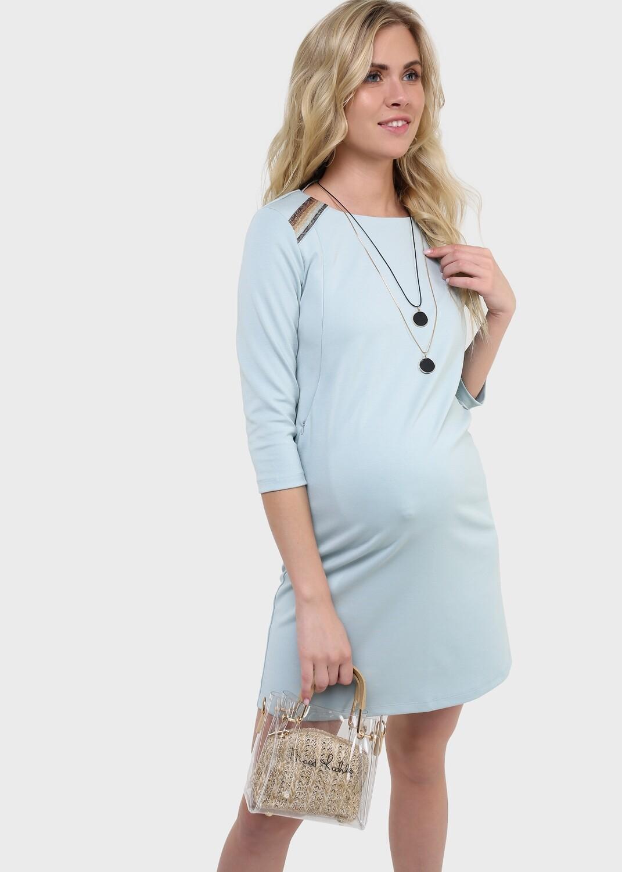 """ILoveMum. Платье """"Ферн"""" для беременных и кормящих, селадон"""