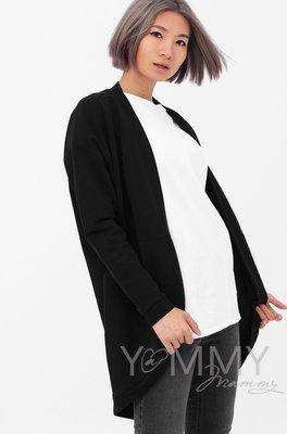 Y@mmy Mammy. Жакет с карманами черный