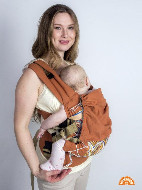 "МАМАРАДА.  Эрго-рюкзак ""Камелия"", размер 42-52"