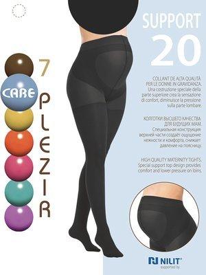Колготки для беременных Support 20 den, цвет черный
