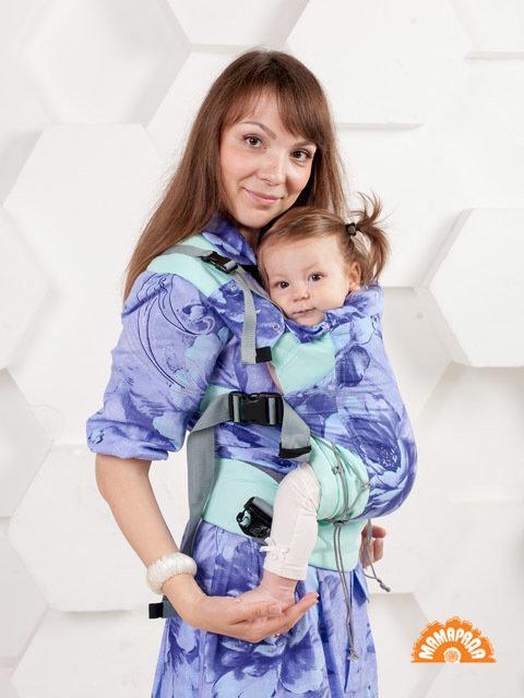 "МАМАРАДА.  Эрго рюкзак ""Лаванда"", размер 42-52"