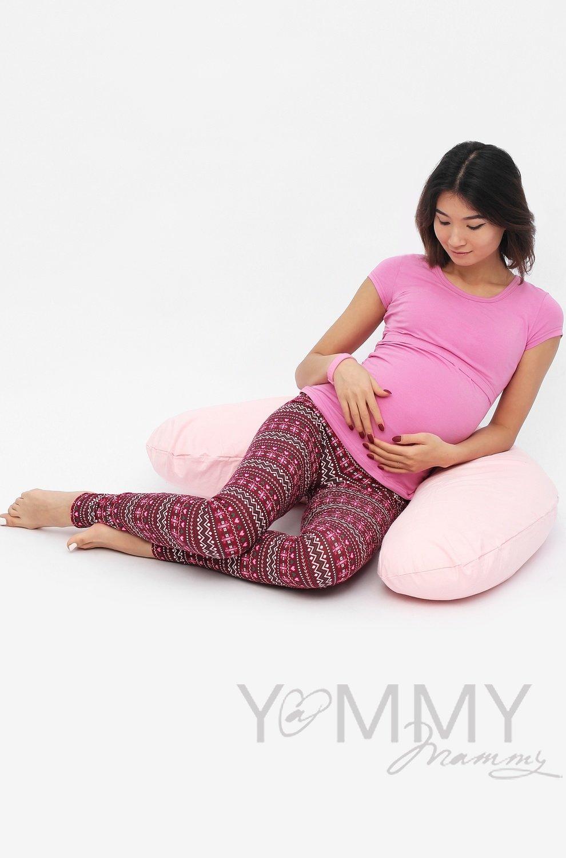 Y@mmy Mammy. Костюм брюки орхидея/узор+футболка орхидея