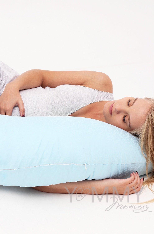 Подушка для беременных (Сатин Голубая)