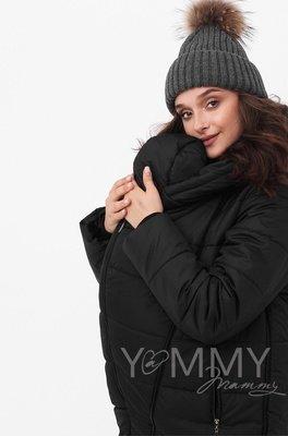 Y@mmy Mammy. Зимняя куртка 3 в 1, цвет  черный