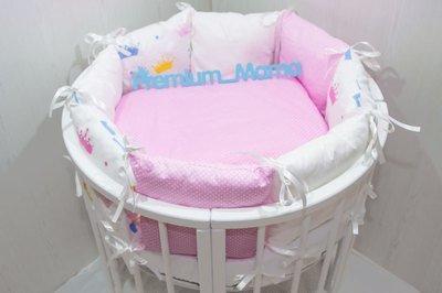 Premium Mama. Бортики в классическую кроватку Princess