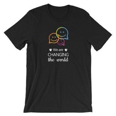 Unisex T-shirt  Changing the world  Philanthrartist