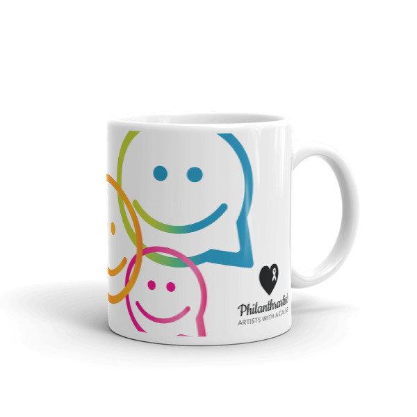 Mug Changing the world Philanthrartist