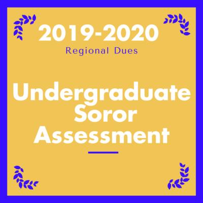 2019-2020 Individual Undergraduate  Soror Assessment