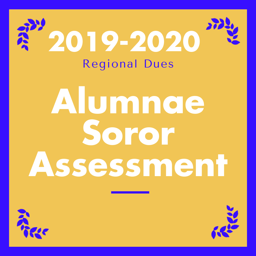 2019-2020 Individual Alumnae Soror Assessment