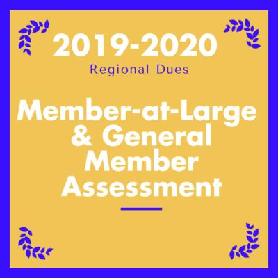 2019-2020 Members-at-Large and General Members Assessment