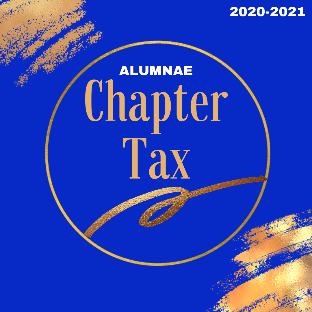 2020-2021 Alumnae Chapter Tax Assessment