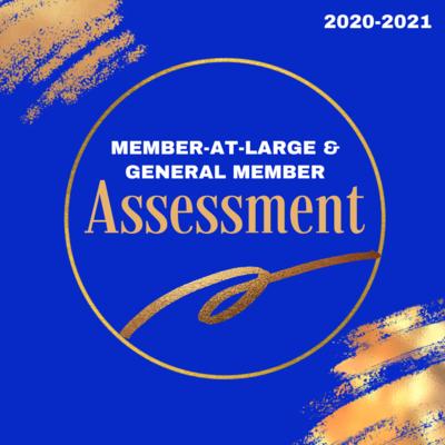 2020-2021 Members-at-Large and General Members Assessment