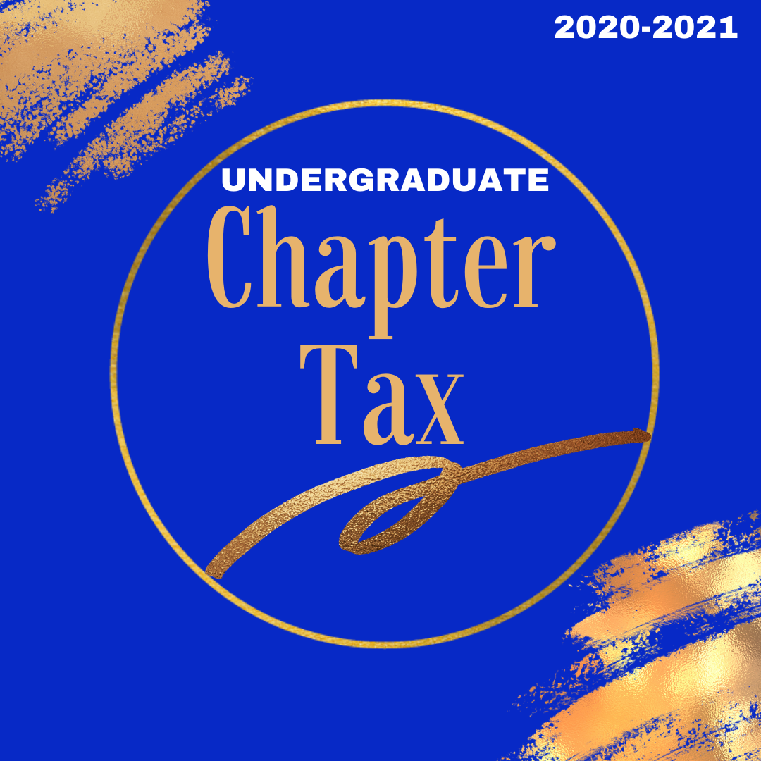 2020-2021 Undergraduate Chapter Tax Assessment