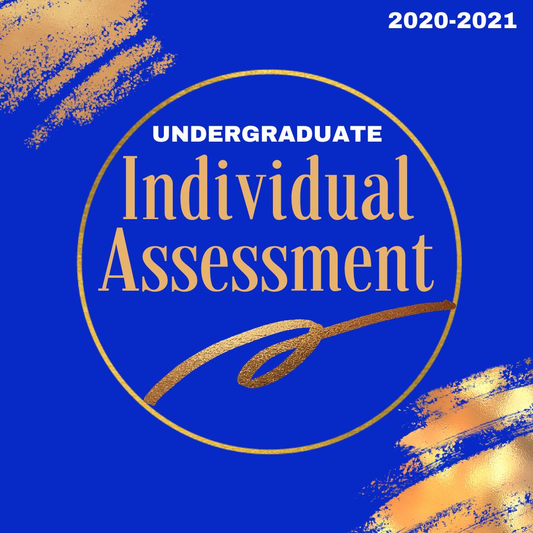 2020-2021 Individual Undergraduate  Soror Assessment